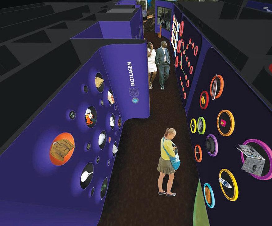 Museu Ciência e Vida Conceito