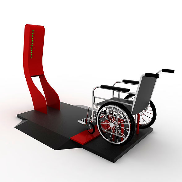 Cadeira de Rodas Geradora