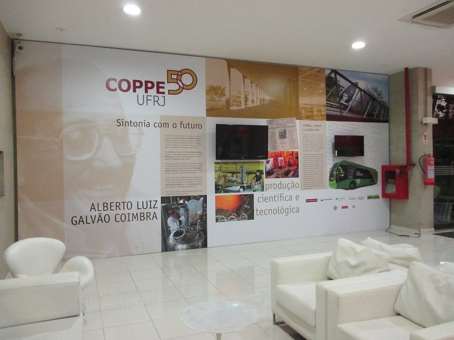 COPPE 50 UFRJ - Sintonia com o futuro