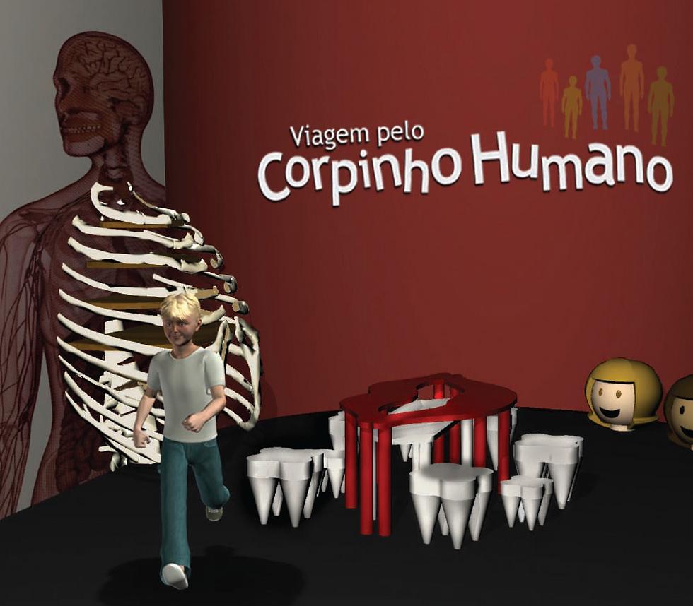 Corpo Humano Viagem pelo Corpinho Humano