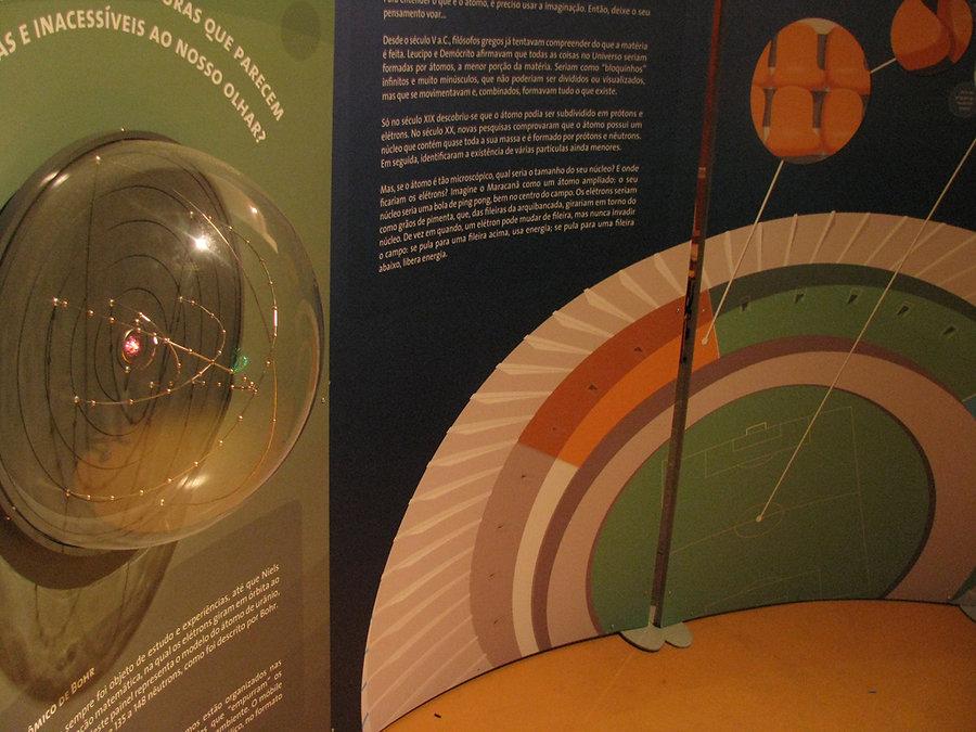 Casa da Ciência - Energia Nuclear: Nicho Átomo