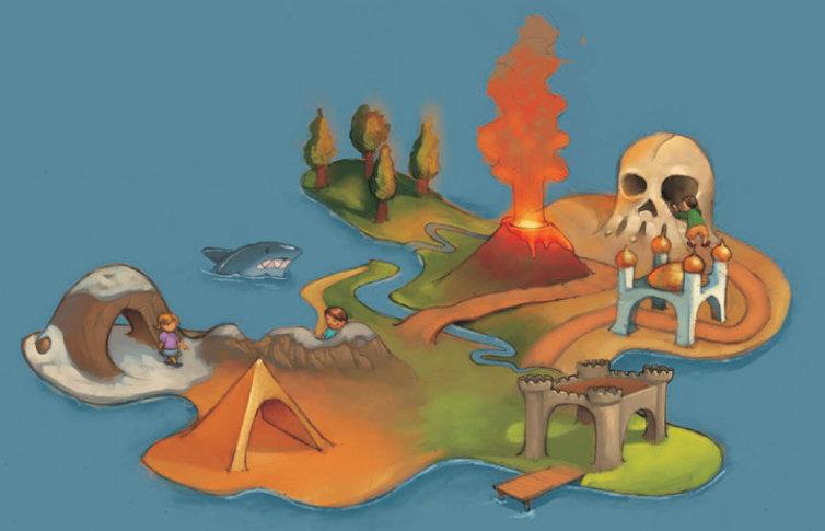 BIOPARQUE Ziraldo Conceito Ilha Interativa