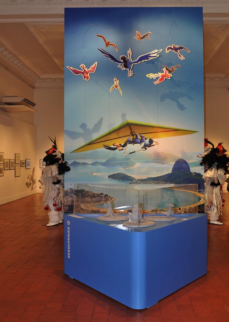Rio - A arte da animação: Expositor