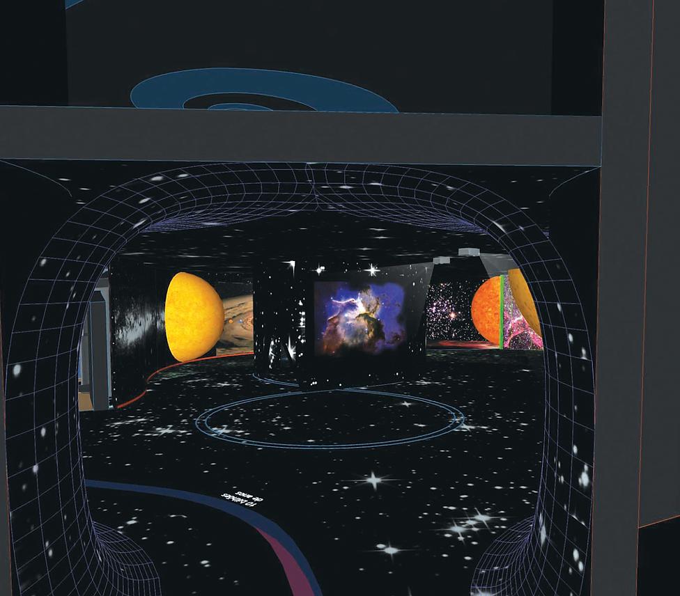 Museu de Ciência e Tecnologia: Galáxias
