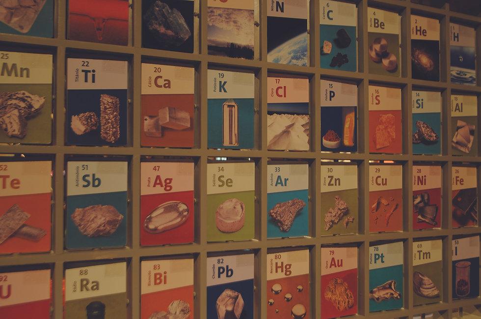 Casa da Ciência - Energia Nuclear: Tabela Periódica