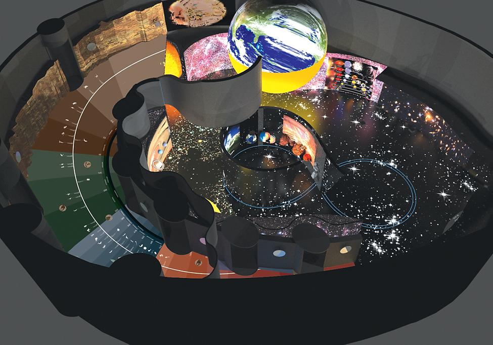 Museu de Ciência e Tecnologia: Vista de Topo