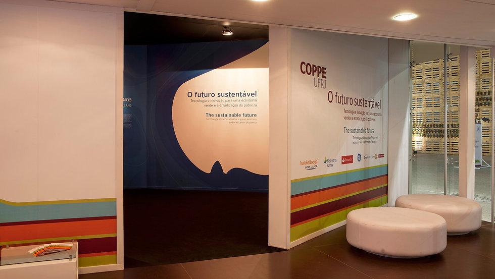 Estande COPPE- Rio + 20: O Futuro Sustentável