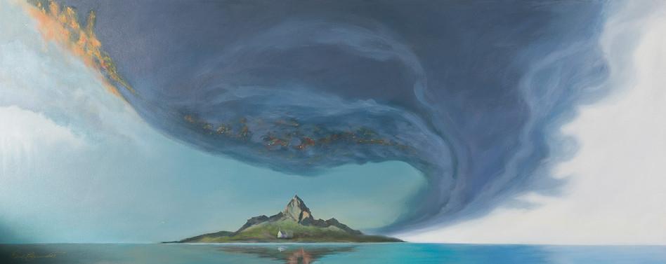 'Cyclone Mountain' 54 cm X 165 cm