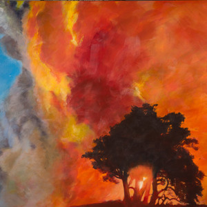 Title: 'Fire' ('Elements' series) Medium: Acrylic on canvas Size: 1520cm X 1220cm Painting: $5,850 Print: $375 Free freight worldwide