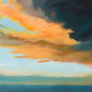 Title: 'Vista 1' Medium: Acrylic on canvas Size: 165cm X 54cm Painting: $4,250 Print: $385 Free freight worldwide