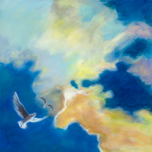 Title: 'Freedom' Medium: Acrylic on canvas Size: 80cm X 80cm Painting: $1,600 Print: $375 Free freight worldwide