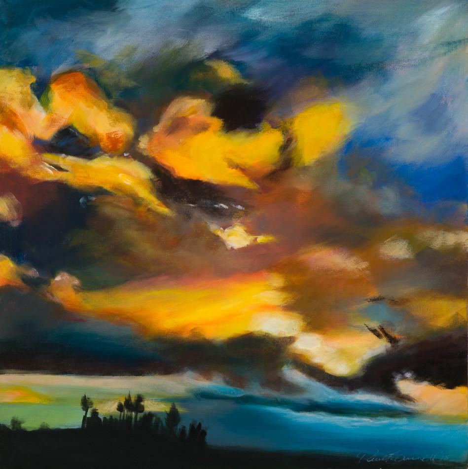 'Sunset Grove' 64 cm X 64 cm