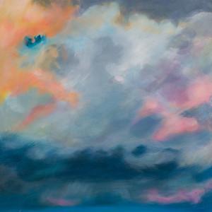 Title: 'Pink Haze' Medium: Acrylic on canvas Size: 80cm X 80cm Painting: $1,600 Print: $375 Free freight worldwide