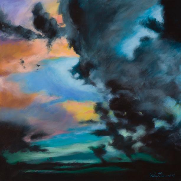 Title: 'Dawning' Medium: Acrylic on canvas Size: 80cm X 80cm Painting: $1,600 Print: $375 Free freight worldwide