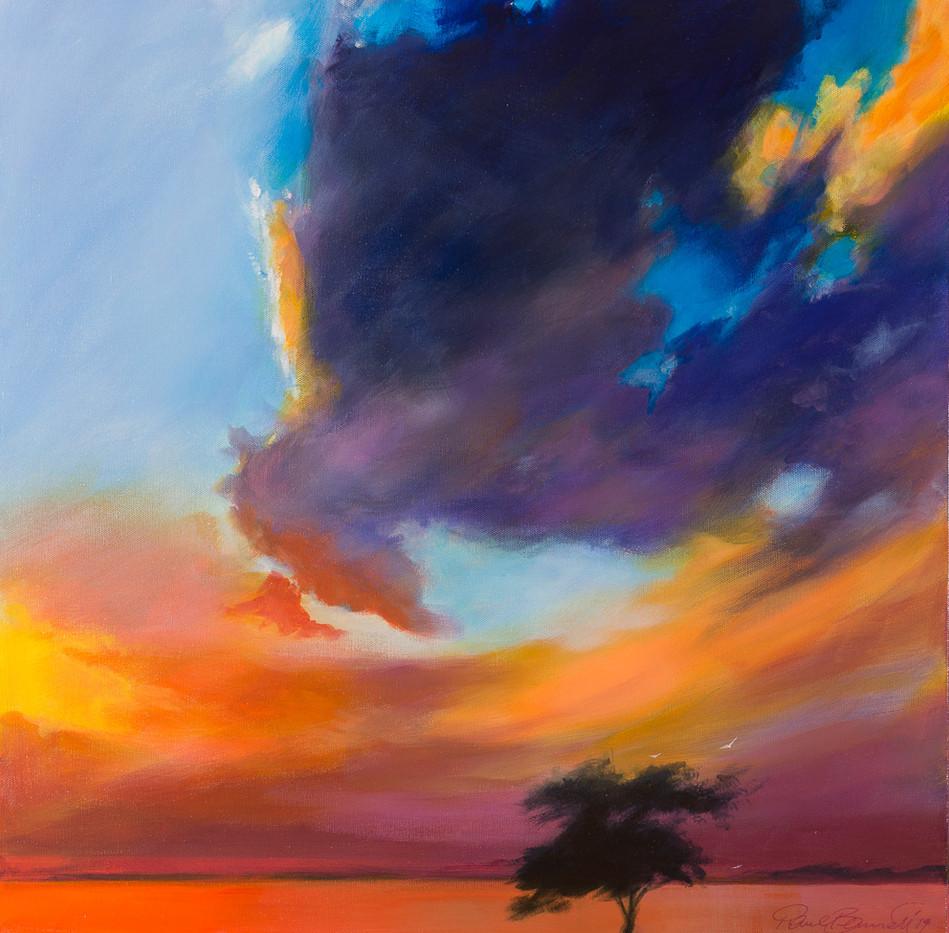 'Sunset Dreaming' 64 cm X 64 cm