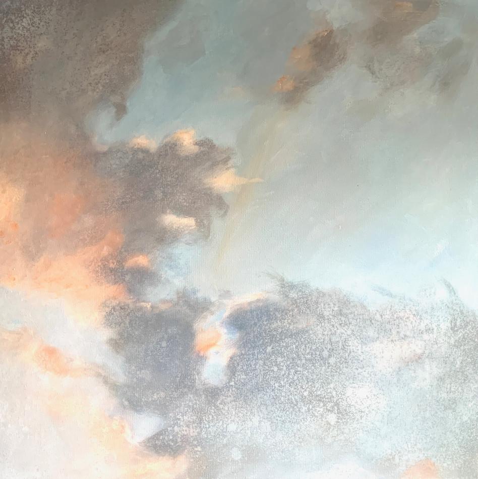 'Misty Visage' 80 cm X 80 cm