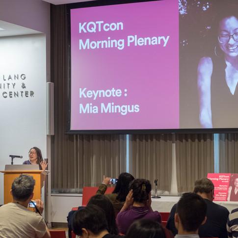 Keynote speaker Mia Mingus