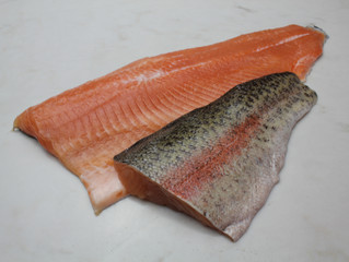 RAINBOW TROUT, SABLEFISH, MUSHROOM VARIETIES & SEAWEED MEDLY DELIVERY FRIDAY FEBRUARY 21ST