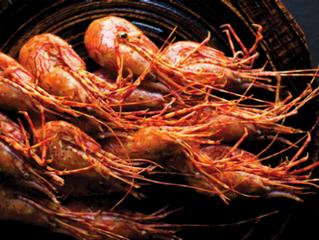Ridgeback Shrimp, Golden Chanterelle & Hedgehog Mushroom Delivery Thursday November 21st