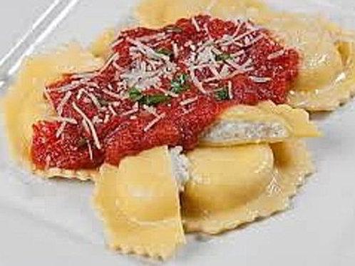 Four cheese ravioli