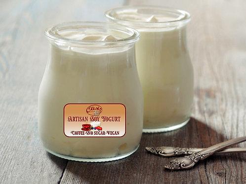 Artisan Soy Vegan Yogurt Coffee Flavour