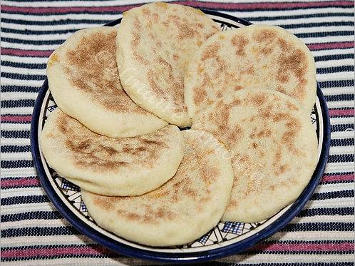 Batbout (Moroccan flatbread)