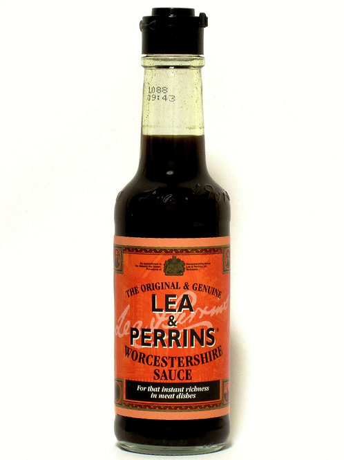 Worchestershire Sauce Lea & Perrins