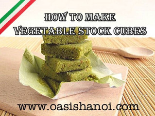 HOW TO MAKE VEGETABLE STOCK CUBES