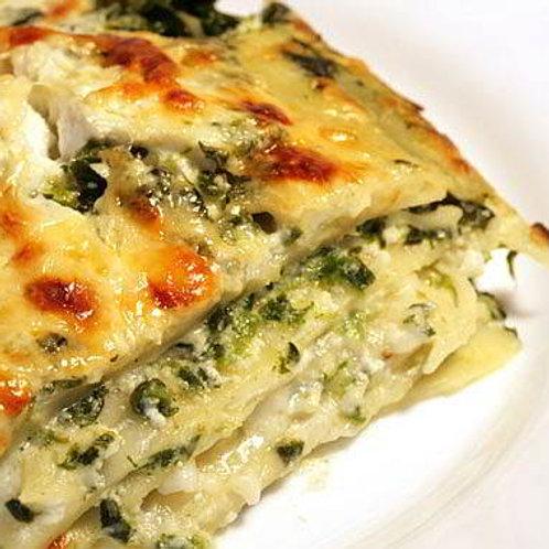 Ricotta and Spinach Lasagna