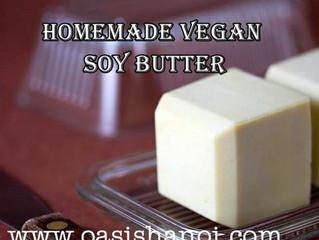 Homemade Vegan Soy Butter