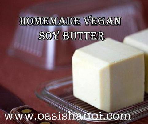Vegan Soy Butter