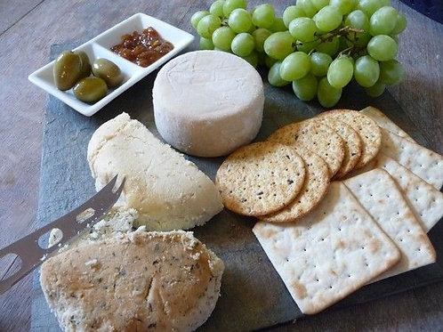 Rosemary & Garlic Vegan Cashew Cheese