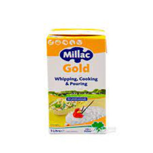 Millac whipping, pouring and cooking cream 1 lt