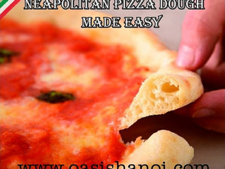 NEAPOLITAN PIZZA DOUGH MADE EAS