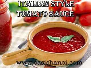 Tomato Sauce Italian Style