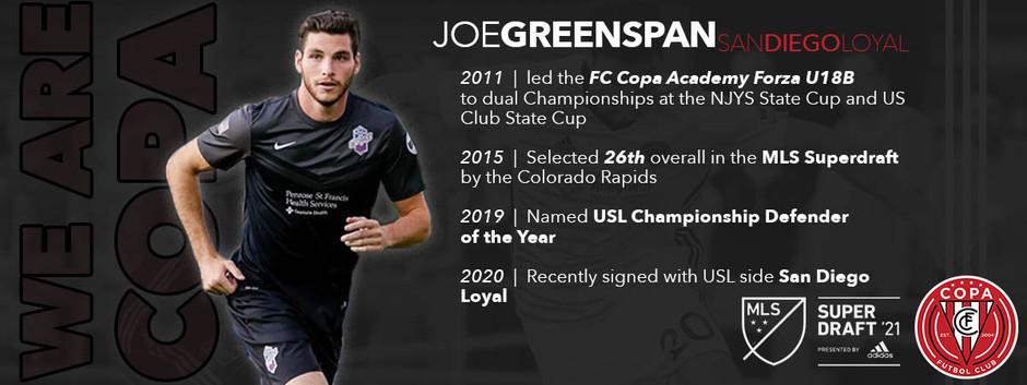 FC Copa Alumnus Joe Greenspan Shares Thoughts On MLS SuperDraft