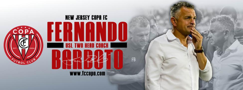 Fernando Barboto Announcement