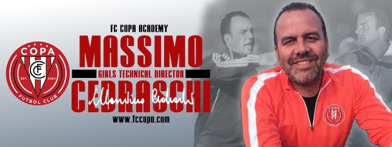 FC Copa Academy Unveils New Girls Director