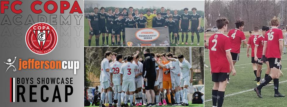 FC Copa Academy 2021 Jefferson Cup Boys Showcase Recap