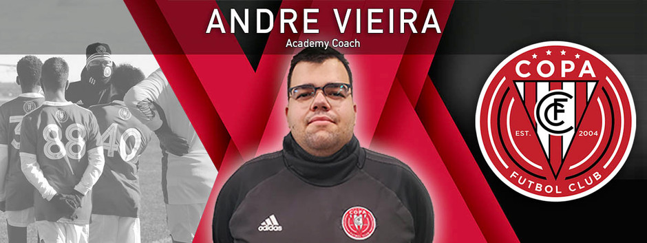 FC Copa Hires Andre Vieira as Academy Staff Coach