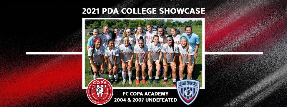FC Copa Academy Enjoys Successful Weekend at PDA Girls College Showcase!