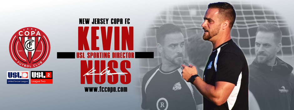 New Jersey Copa FC Hires Kevin Nuss As Sporting Director