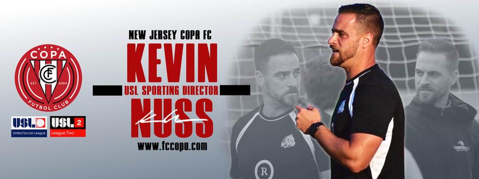 Kevin Nuss Announcement