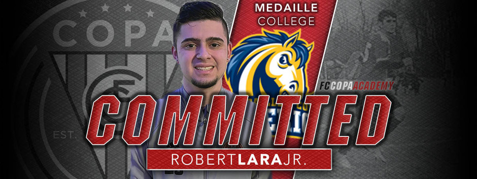 Robert Lara Jr, Class of 2021, Commits to  Medaille College!