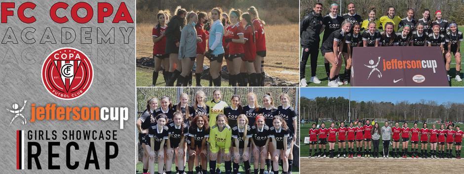 FC Copa Academy 2021 Jefferson Cup Girls Showcase Recap