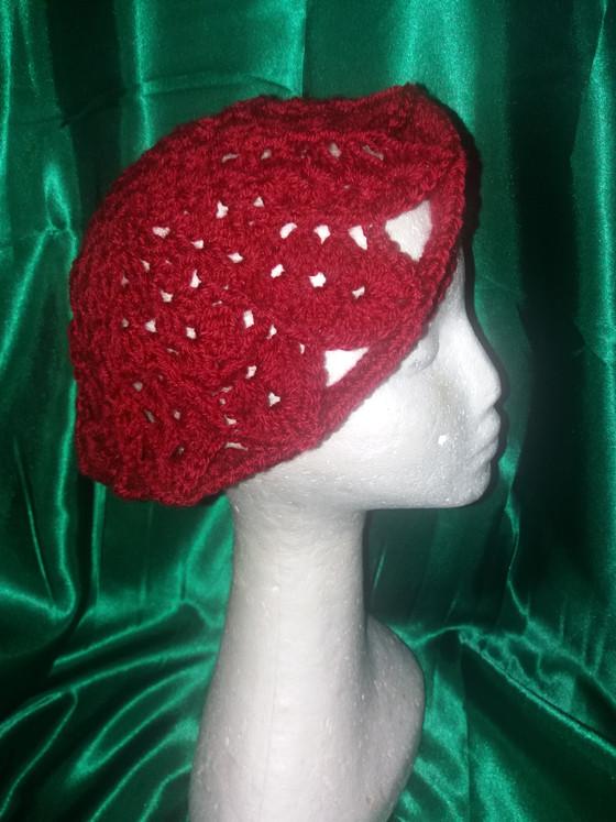Crochet-By-Q Beret!