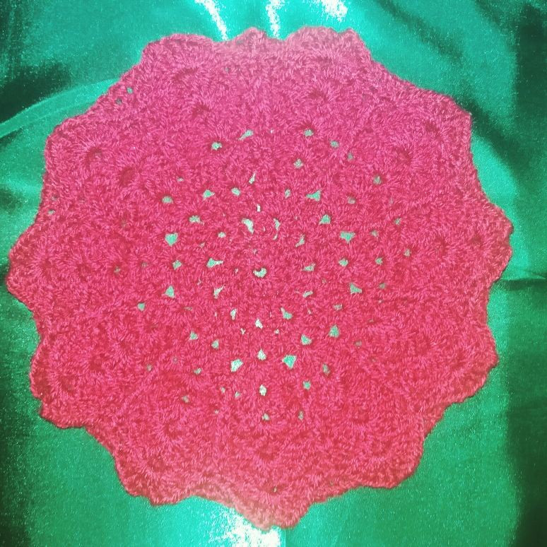 Front Image of Crochet Beret