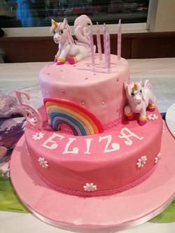 animal encounter party cakes