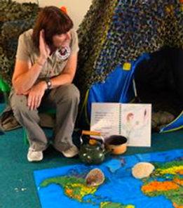storytime adventure exotic animals workshop encounter
