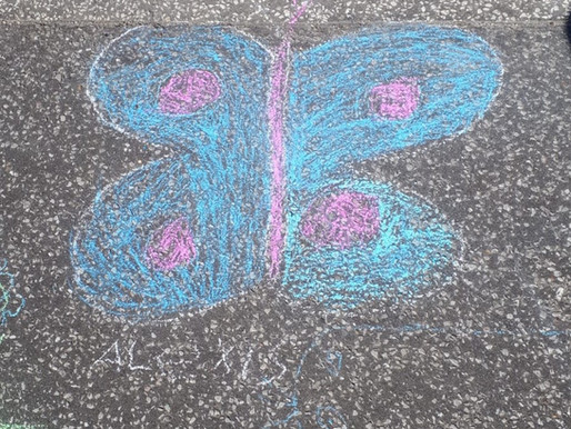 Butterflies make us smile !